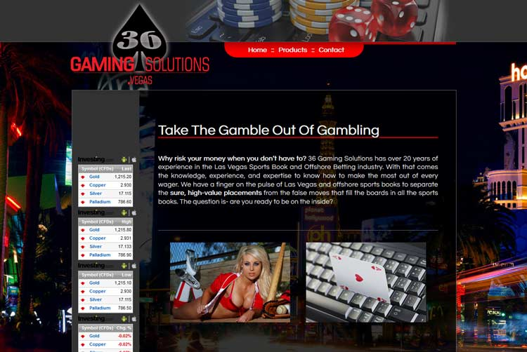 36 Gaming Solutions Client Design