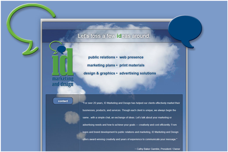 ID Marketing & Design Client Web Design